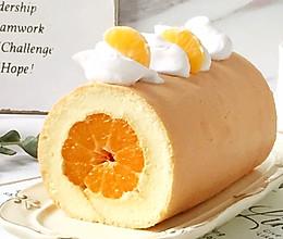 甜甜蜜蜜—蜜桔蛋糕卷的做法