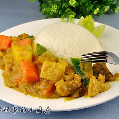 上班族妈妈的快手午餐——咖喱鸡肉饭