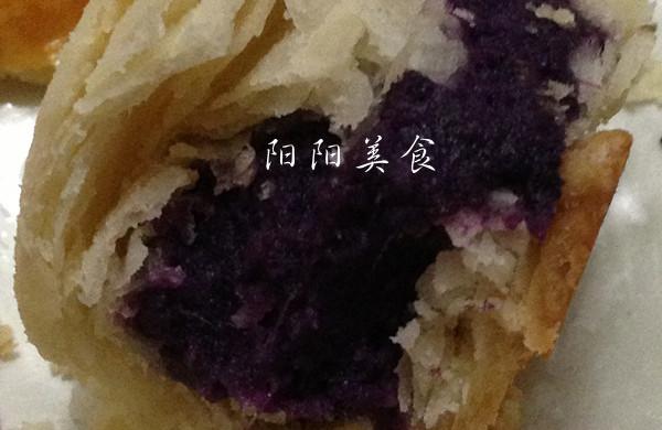黑芝麻紫薯酥----紫色的诱惑