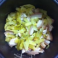 增进食欲 咸菜饭的做法图解4