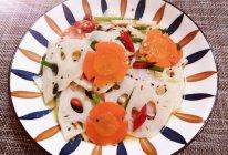 #少盐饮食 轻松生活#凉拌藕片的做法