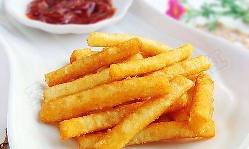 自制美味薯条 的做法