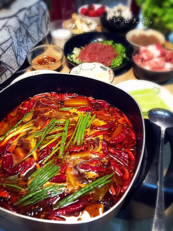 红油火锅汤底【家庭版】的做法