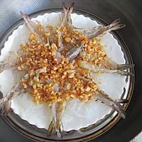 蒜蓉粉丝蒸虾#寻找最聪明的蒸菜达人#的做法图解9