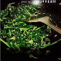 养生菜:虾皮韭菜的做法图解9