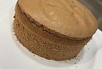 云朵般口感的巧克力戚风蛋糕(6寸配方)的做法