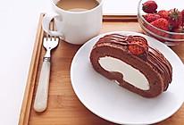 巧克力蛋糕卷卷#豆果5周年#的做法