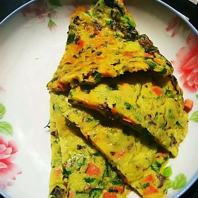 早餐蔬菜 饼 宝宝营养 美容健康