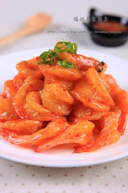新年做一道简单却惊艳的---泰式甜辣虾