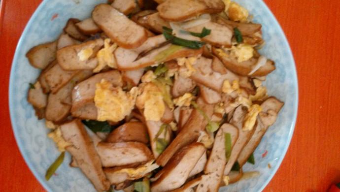 鸡蛋炒香干