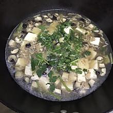 香菇虾皮豆腐汤