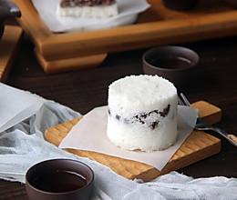 红豆松糕的做法