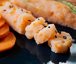 虾肉米肠的做法