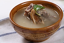 蛏干猪骨汤—自动烹饪锅食谱的做法