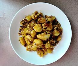 重口味土豆块的做法