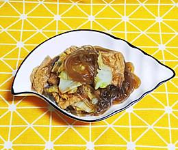 白菜粉条炖豆腐,简单营养多汁,新手必备!的做法
