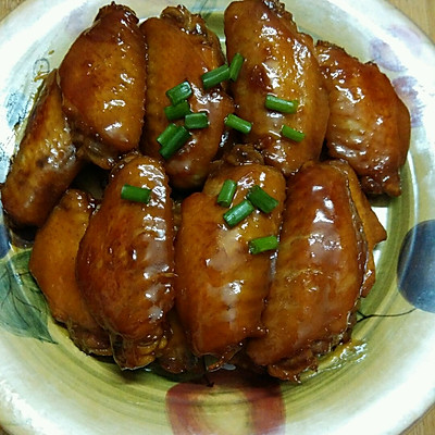 红烧鸡翅的做法 步骤7