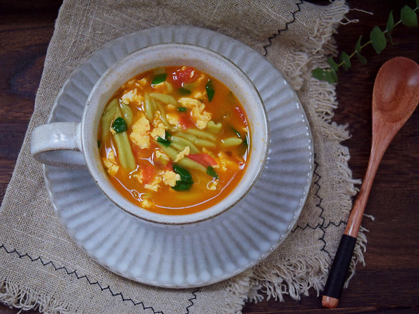 番茄蔬菜面疙瘩的做法
