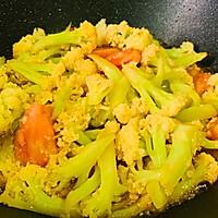 #百变鲜锋料理#鲍汁蚝油西红柿炒花菜的做法图解17