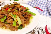 小炒黄牛肉的做法
