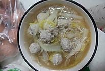 汆丸子汤的做法