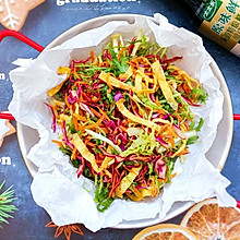 #仙女们的私藏鲜法大PK#简单又美味的彩虹沙拉