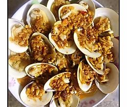 蒜蓉粉丝蒸文蛤的做法