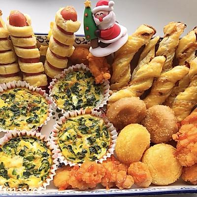圣诞零食拼盘