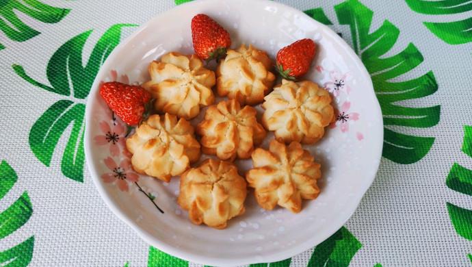 家庭网红版云顶黄油曲奇饼干,简单零失败,美味与颜值共存!
