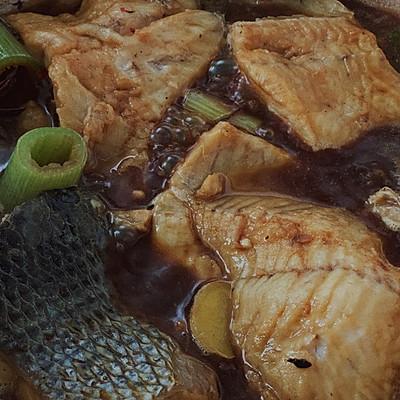 家常炖黑鱼 快手菜