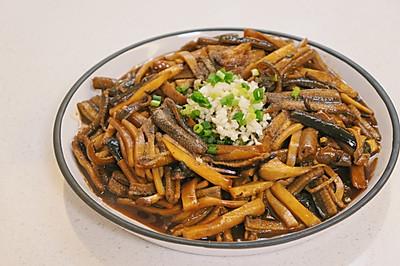 响油鳝丝,上海本帮菜