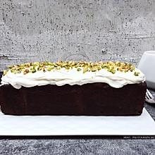 fluff棉花糖之巧克力核桃仁夹心磅蛋糕#有颜值的实力派#