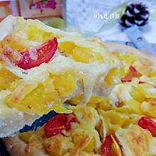 #豆果10周年生日快乐#菠萝水果披萨