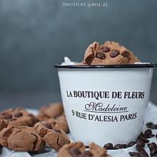 可可巧克力豆玛格丽特饼干