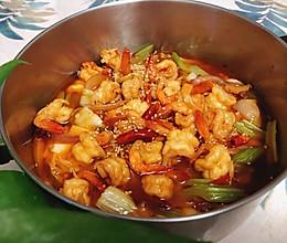 一锅好吃的「沸腾虾」改良版的做法