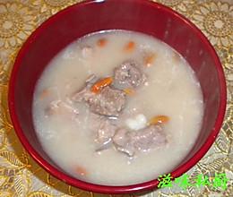 粥水排骨汤的做法