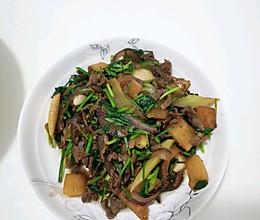 酸萝卜炒肉,原来白萝卜还这么好吃的做法