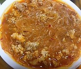 辣椒酱版肉末粉丝的做法