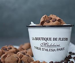 可可巧克力豆玛格丽特饼干的做法