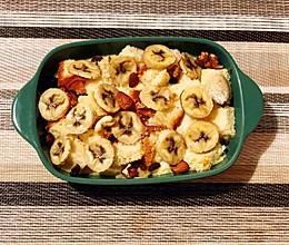 香蕉土司布丁的做法