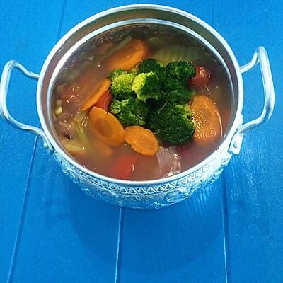 蔬菜瘦身汤