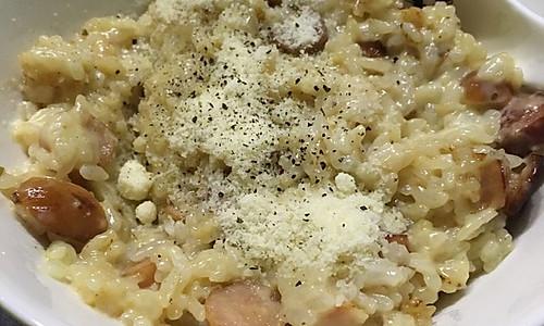 奶油芝士香肠焗饭-快手料理Maru团团的做法