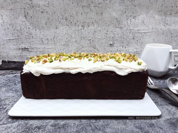 fluff棉花糖之巧克力核桃仁夹心磅蛋糕的做法