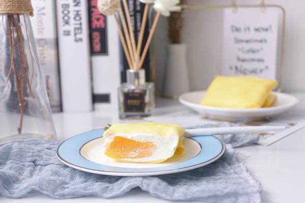 奶油芒果班戟