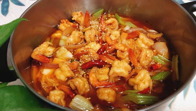 一锅好吃的「沸腾虾」改良版