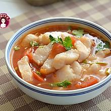 #豆果10周年生日快乐# 番茄巴沙鱼汤
