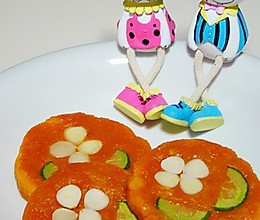 杏仁南瓜饼的做法