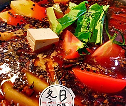 红油麻辣火锅的做法