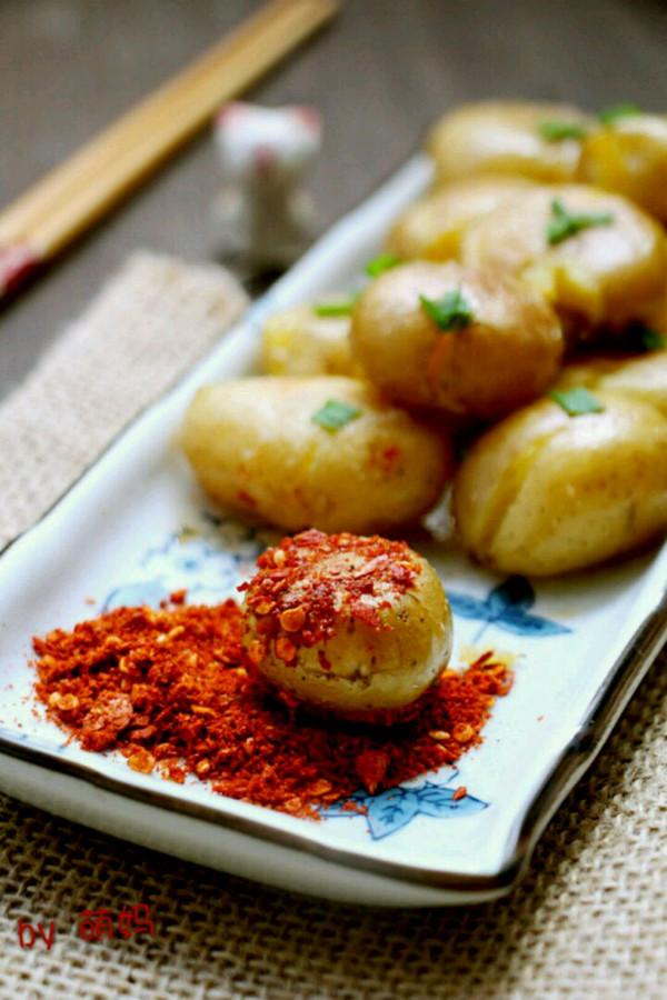 #夏日素食#香煎小土豆的做法