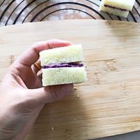#好吃不上火#紫薯芋泥西多士的做法圖解8